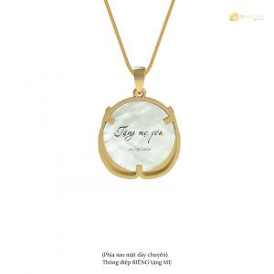 Mặt dây chuyền Mẹ yêu | Ngọc trai Nói - PearlTalk