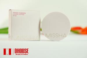 Phấn Nước Kiềm Dầu Missha Magic Cushion Cover Lasting SPF50+ PA+++ (không tích điểm)