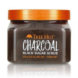Tẩy Tế Bào Chết Body Dạng Đường Than Hoạt Tính Charcoal Tree Hut 510g