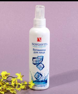 Xịt Khoáng Cung Cấp Vitamin & Khoáng Chất Cho Làn Da Khỏe Mạnh Novosvit 190ml (Nga)