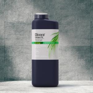 Sữa tắm energy cỏ hương bài & nhân sâm Dicora Urban Fit
