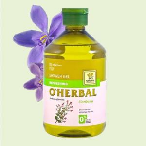 Sữa tắm chiết xuất cây mã tiên thảo O'Herbal