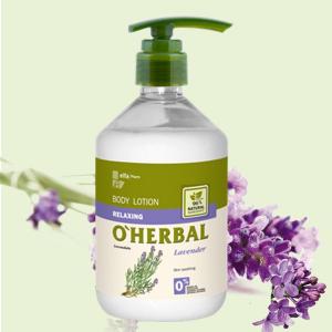 Sữa dưỡng thể thư giãn chiết xuất hương Lavender  O'herbal