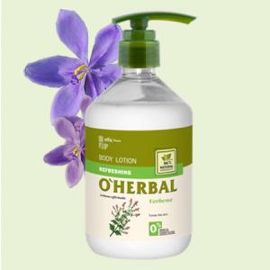 Sữa dưỡng thể chiết xuất cây mã tiên thảo O'herbal
