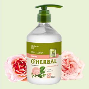 Sữa dưỡng thể chiết xuất hoa hồng O'herbal