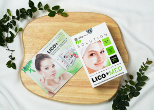 Mặt nạ trắng da Lico+med
