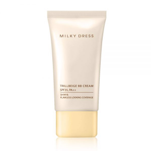 Kem lót trang điểm 3 tác dụng dành cho da dầu, da hỗn hợp SPF35 PA++ Milky Dress Trillbeige BB Cream