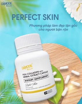 Viên Trắng Da, Collagen, Chống lão hoá - PERFECT SKIN