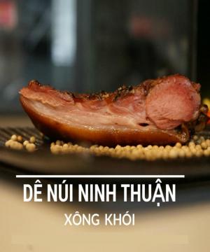 Thịt dê xông khói Vinh Hạnh - Đặc sản Ninh Thuận