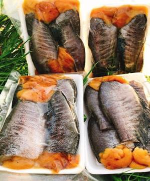Khô cá sặc trắng - đặc sản Cà Mau