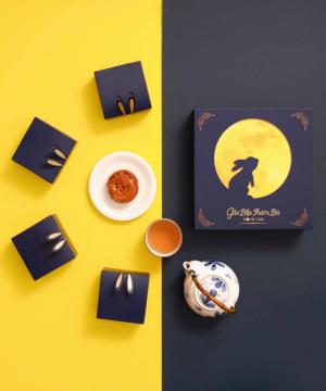 Mẫu Hộp Bánh Trung Thu Moon Cake (Mix 4 hộp) (Combo 1)