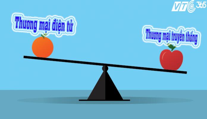 Điểm khác biệt giữa thương mại truyền thống và thương mại điện tử