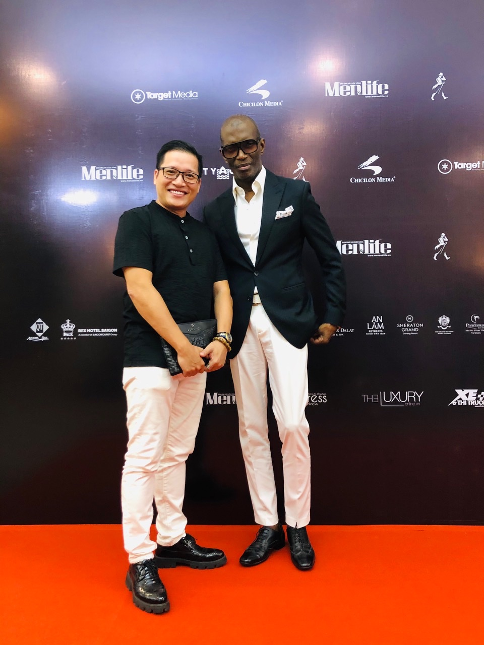 Ban lãnh đạo DSTORE đồng hành tại lễ trao giải Men&life Awards 2019