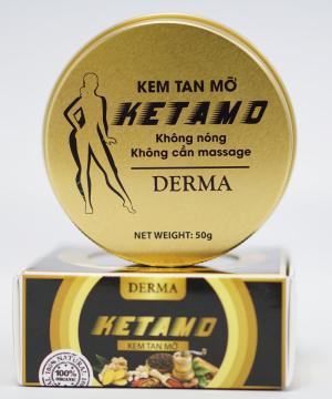 KETAMO - Kem tan mỡ 50g