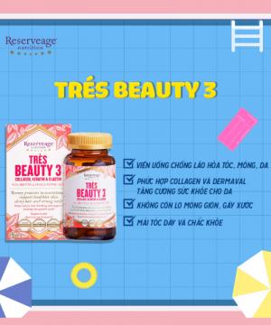 Siêu phẩm Da Móng Tóc - Tres Beuty 3 (hộp)