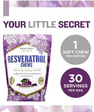 Kẹo Chống Oxy Hóa - Resveratrol Chews (bịch kẹo)