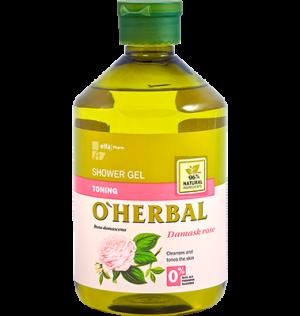 Sữa tắm chiết xuất hoa hồng O'Herbal