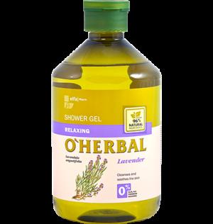 Sữa tắm thư giãn chiết xuất Lavender O'herbal